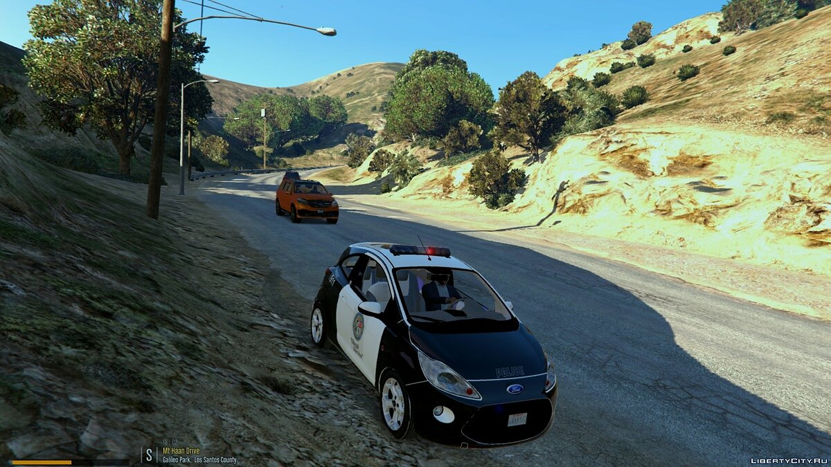 Ford Ka Police [Add-On / Replace] 1.0 для GTA 5