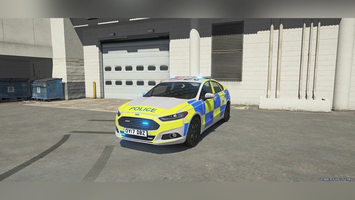 Ford Mondeo Britisch Police [ELS/REPLACE] 1.0 для GTA 5