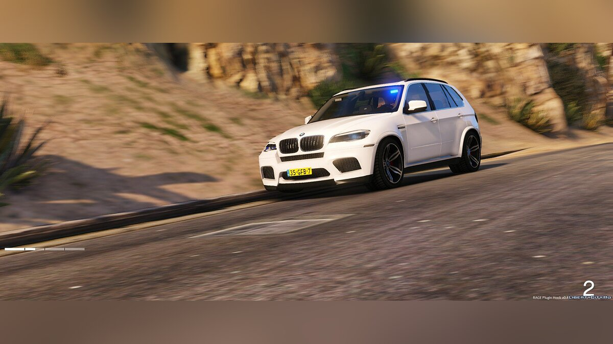 Unmarked BMW X5 M Dutch Police 1.0 для GTA 5