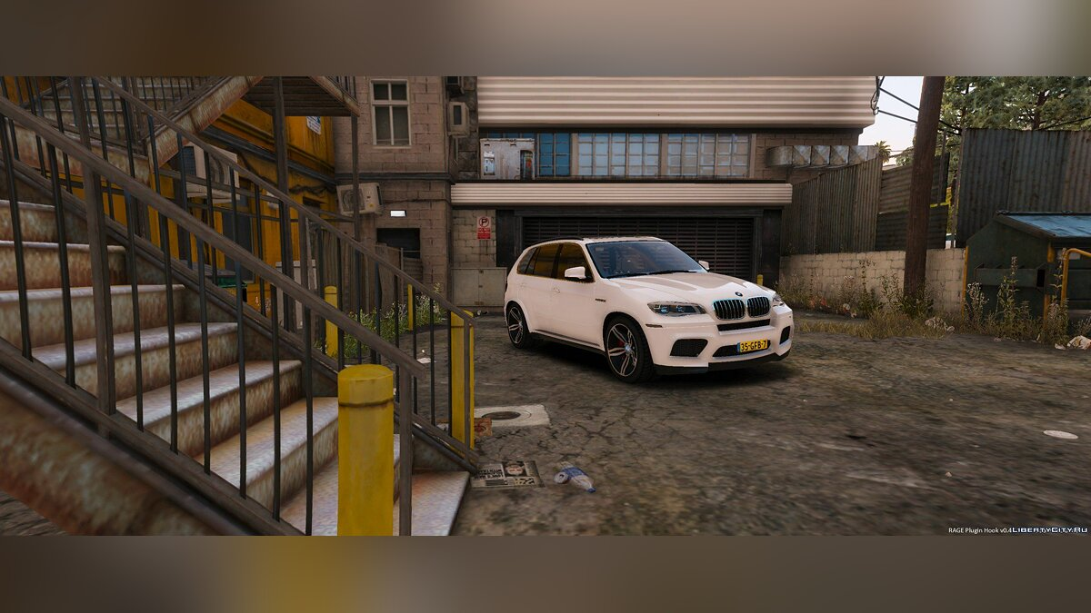 Unmarked BMW X5 M Dutch Police 1.0 для GTA 5 - скриншот #2