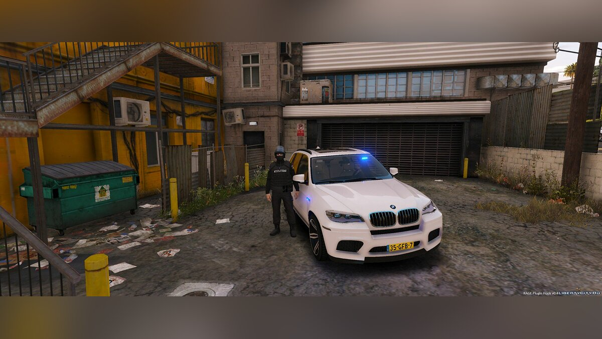 Unmarked BMW X5 M Dutch Police 1.0 для GTA 5 - скриншот #3