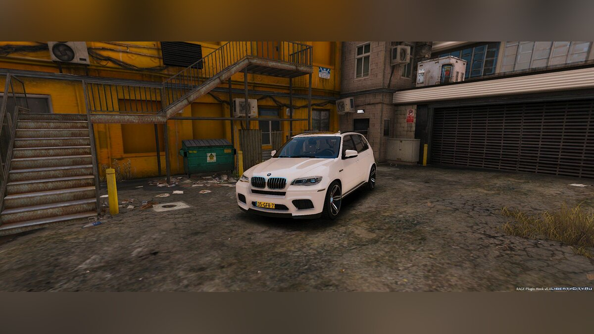Unmarked BMW X5 M Dutch Police 1.0 для GTA 5 - скриншот #5