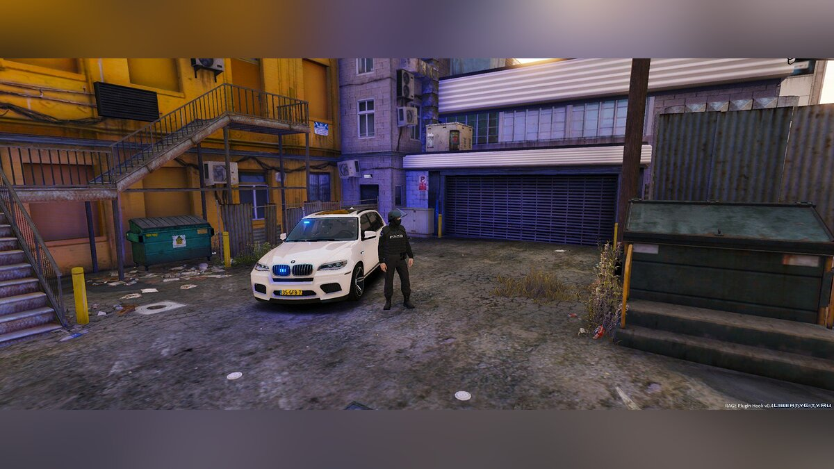Unmarked BMW X5 M Dutch Police 1.0 для GTA 5 - скриншот #6