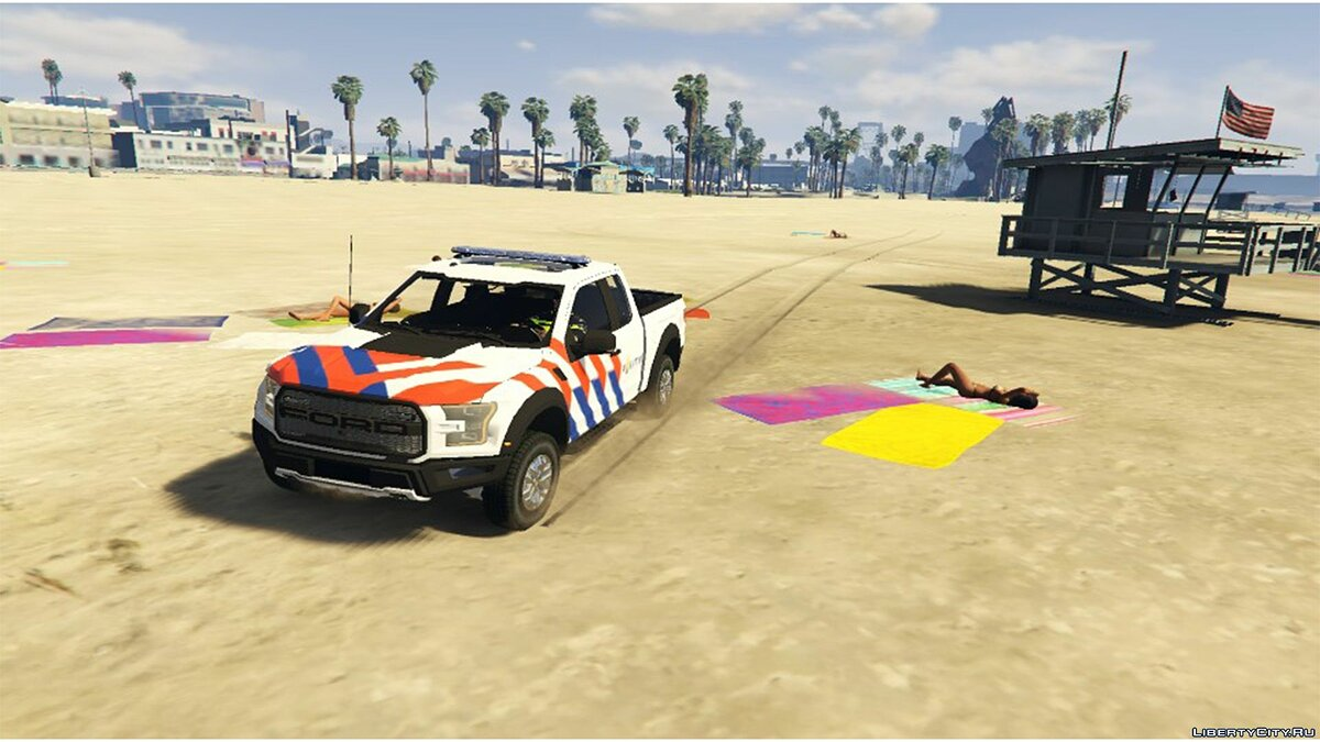 2017 Ford F-150 Raptor Dutch Police 0.1 [BETA] для GTA 5