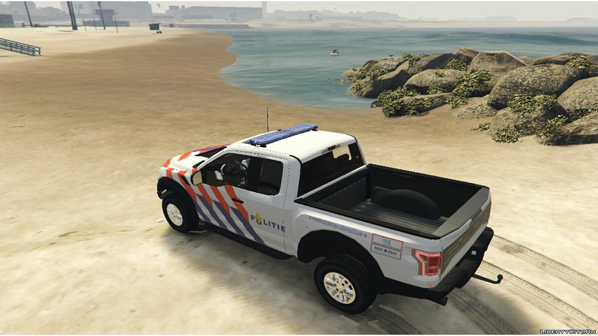2017 Ford F-150 Raptor Dutch Police 0.1 [BETA] для GTA 5 - скриншот #2