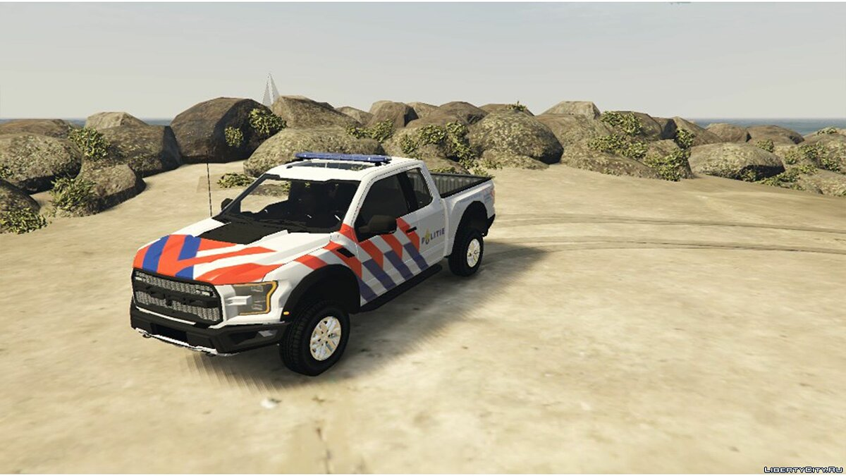 2017 Ford F-150 Raptor Dutch Police 0.1 [BETA] для GTA 5 - скриншот #3