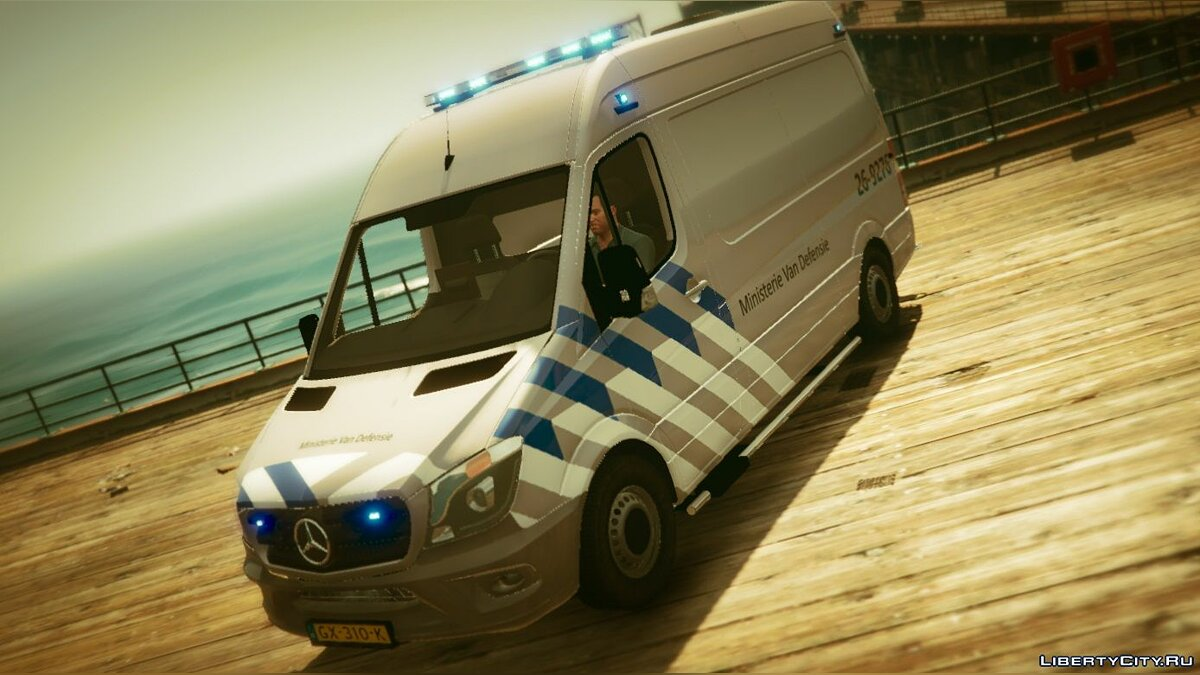 2015 Mercedes Benz Sprinter EOD 1.0 для GTA 5
