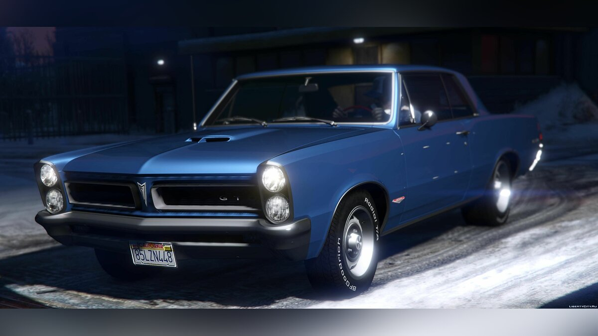 1965 Pontiac Tempest Le Mans GTO [Add-On | Template] 1.1b для GTA 5