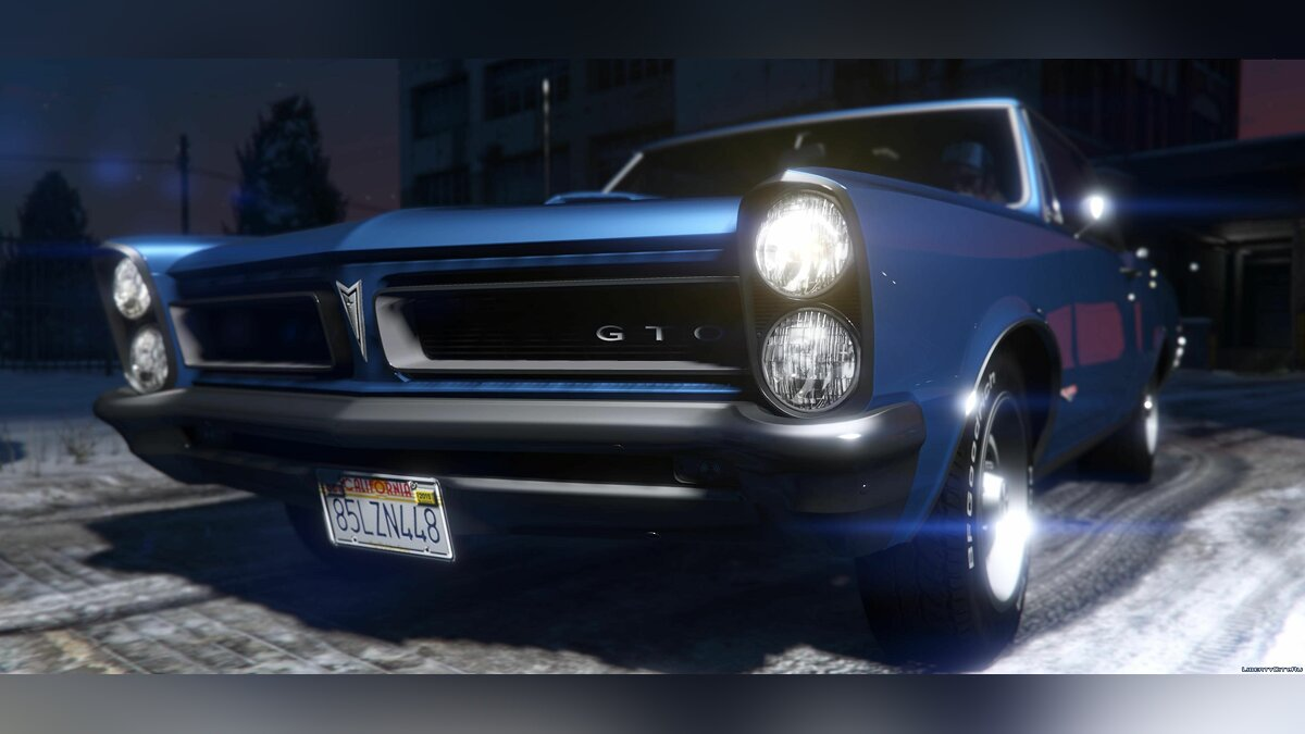 1965 Pontiac Tempest Le Mans GTO [Add-On | Template] 1.1b для GTA 5 - скриншот #3