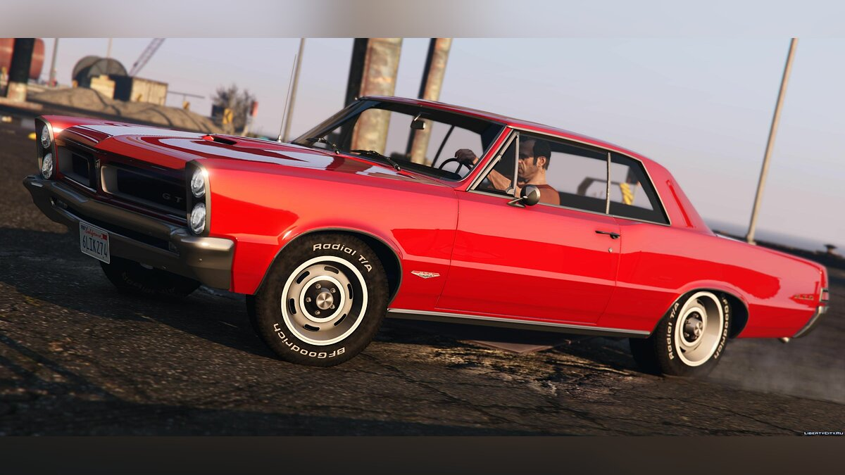1965 Pontiac Tempest Le Mans GTO [Add-On | Template] 1.1b для GTA 5 - скриншот #5