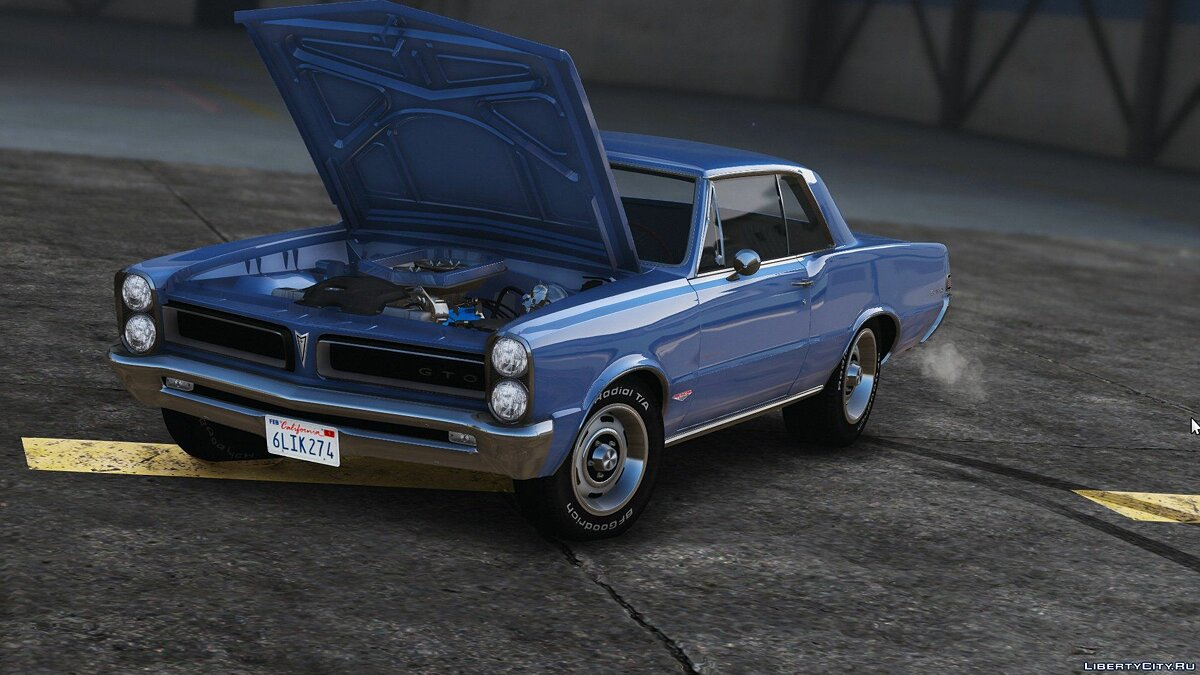 1965 Pontiac Tempest Le Mans GTO [Add-On | Template] 1.1b для GTA 5 - скриншот #7