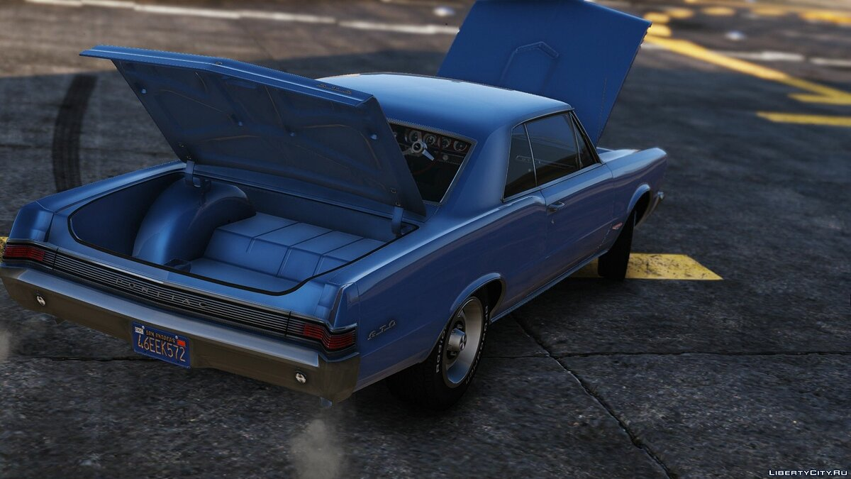 1965 Pontiac Tempest Le Mans GTO [Add-On | Template] 1.1b для GTA 5 - скриншот #8