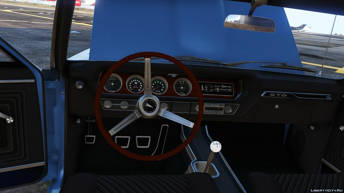 1965 Pontiac Tempest Le Mans GTO [Add-On | Template] 1.1b для GTA 5 - скриншот #9
