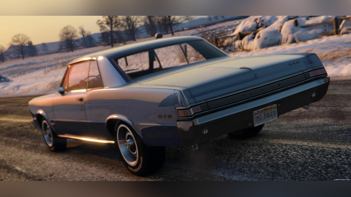 1965 Pontiac Tempest Le Mans GTO [Add-On | Template] 1.2 для GTA 5 - скриншот #2