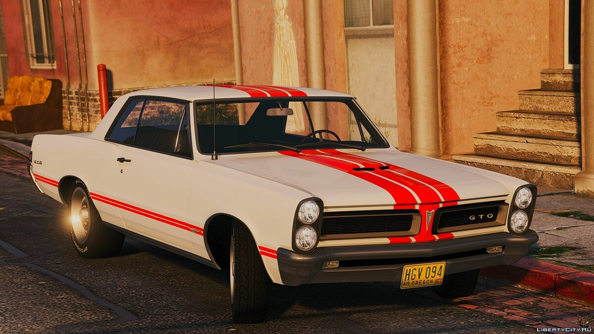 1965 Pontiac Tempest Le Mans GTO [Add-On | Template] 1.2 для GTA 5 - скриншот #7
