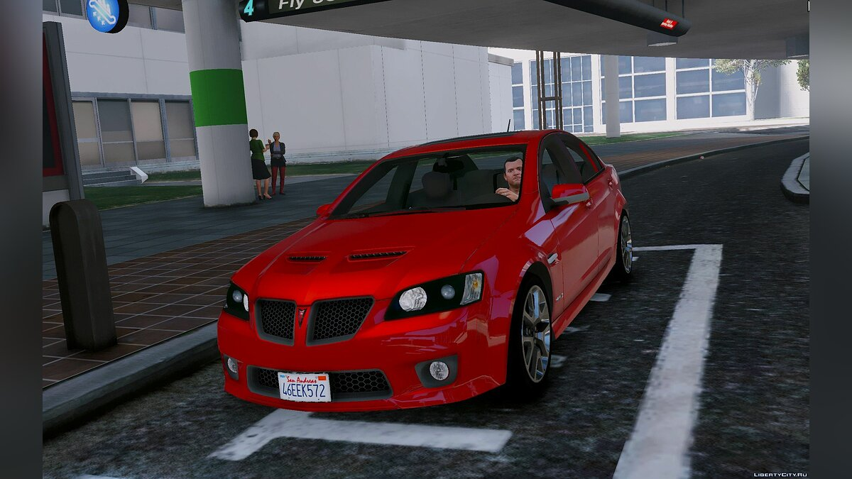 Pontiac G8 GXP [Add-On | Tuning | HQ] 0.1 для GTA 5