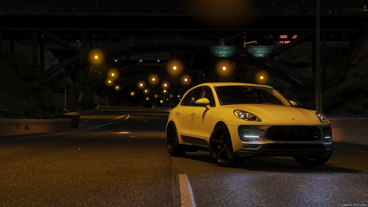 2016 Porsche Macan Turbo [Add-On / Replace] 1.3 для GTA 5