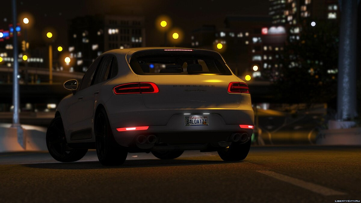 2016 Porsche Macan Turbo [Add-On / Replace] 1.3 для GTA 5 - скриншот #2