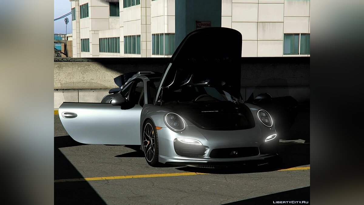 Машина Porsche 2014 Porsche 911 Turbo S [Add-On | LODs | Template] 1.0 для GTA 5