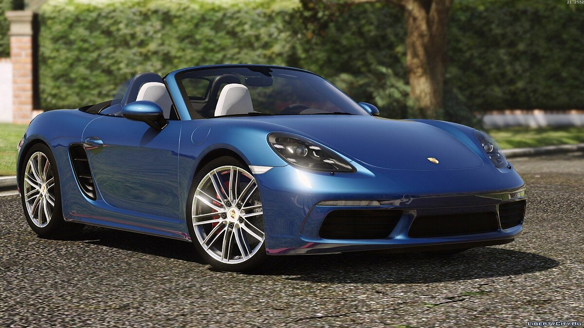Porsche 718 Boxster S [Add-On / Replace] для GTA 5