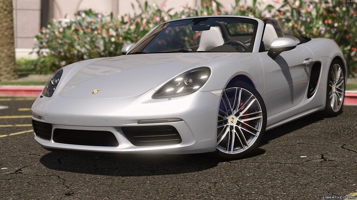 Porsche 718 Boxster S [Add-On / Replace] для GTA 5 - скриншот #7
