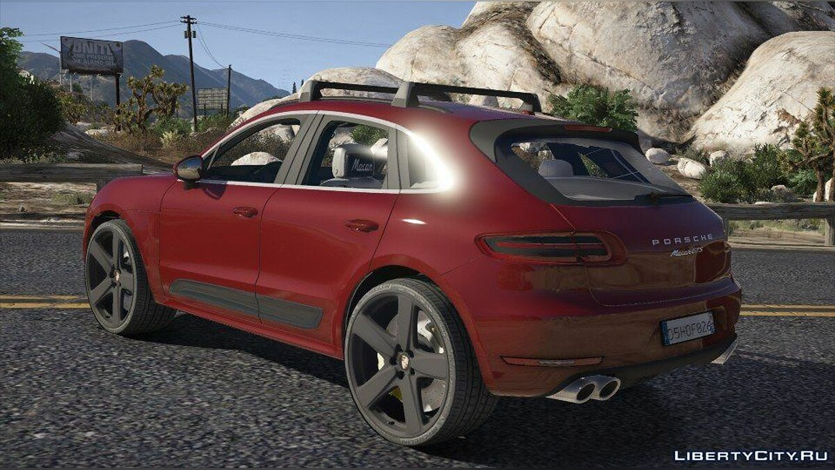Porsche Macan GTS 2017 [Add-On / Replace] 1.0 для GTA 5 - скриншот #2