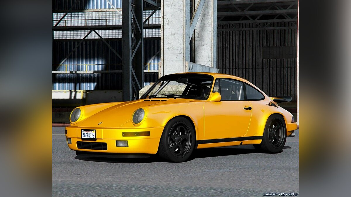 Машина Porsche 1987 Porsche 911 (930) - (Ruf CTR) [Add-On] 1.0 для GTA 5