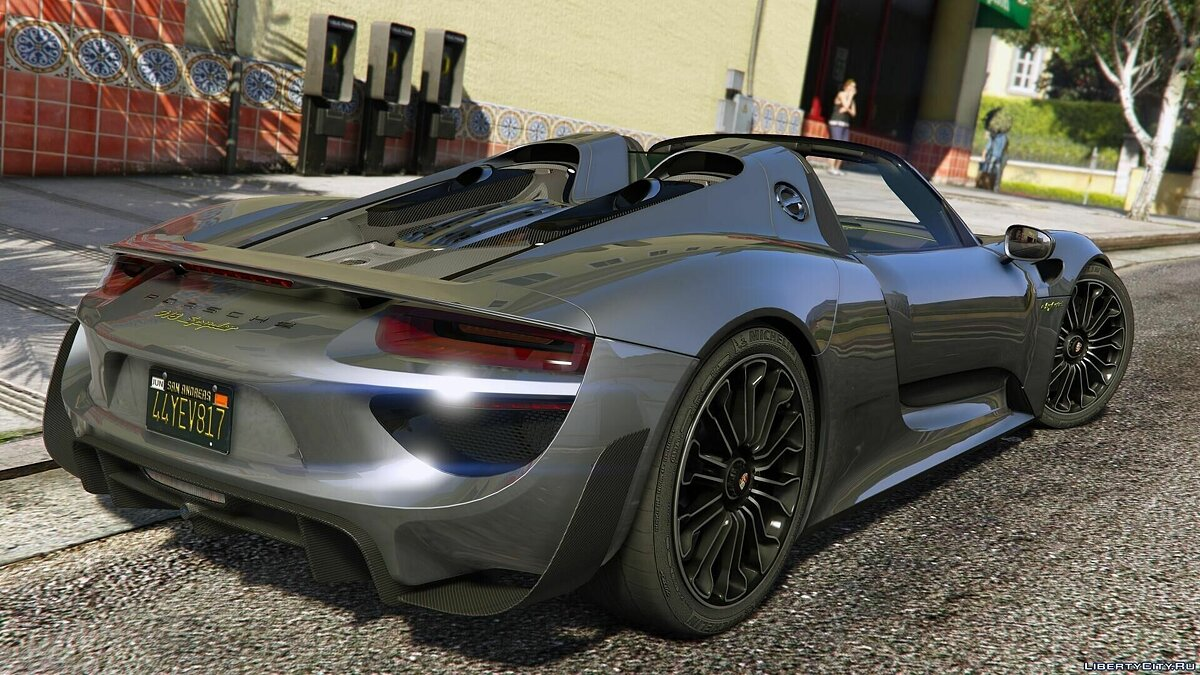 2015 Porsche 918 Spyder & Weissach Kit [Add-On] для GTA 5 - скриншот #4