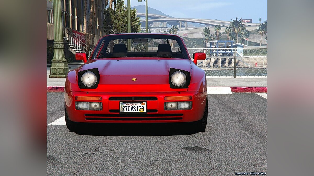 Машина Porsche Porsche 944 Turbo 1989 [Add-On | Template] 1.0 для GTA 5