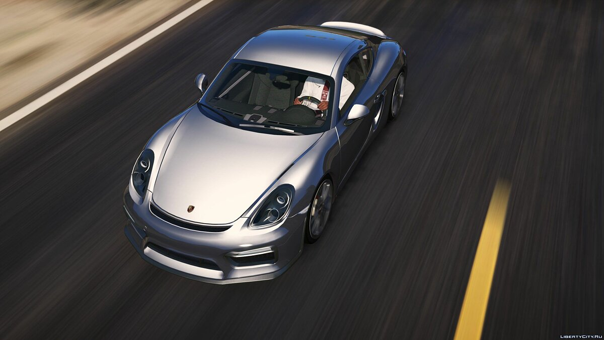 Porsche Cayman GT4 2016 [Add-On | Tuning | OIV] 1.1 для GTA 5 - скриншот #3