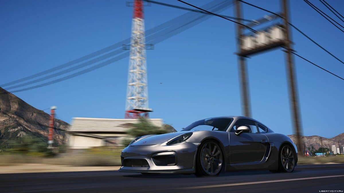Porsche Cayman GT4 2016 [Add-On | Tuning | OIV] 1.1 для GTA 5 - скриншот #4