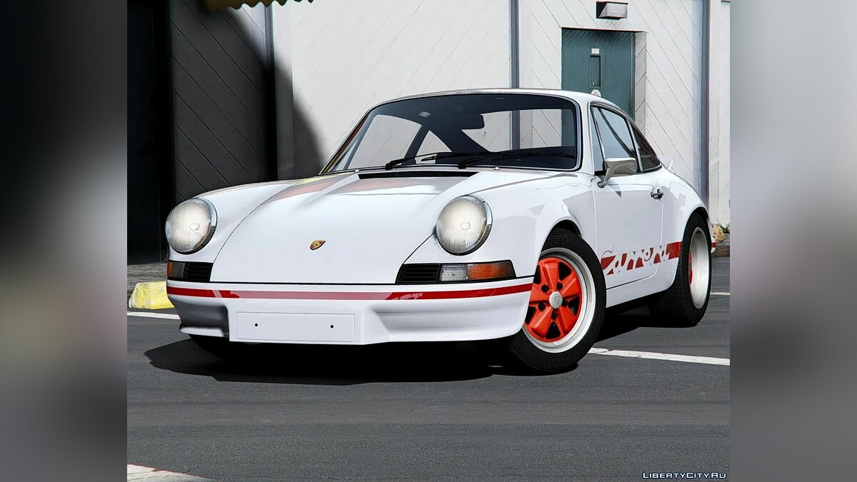 Машина Porsche Porsche 911 Carrera RS 1973 [Add-On | Extras | Tuning | Template] 1.0 для GTA 5