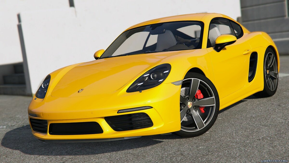 Машина Porsche Porsche 718 Cayman S [Add-On / Replace] 2.0 для GTA 5