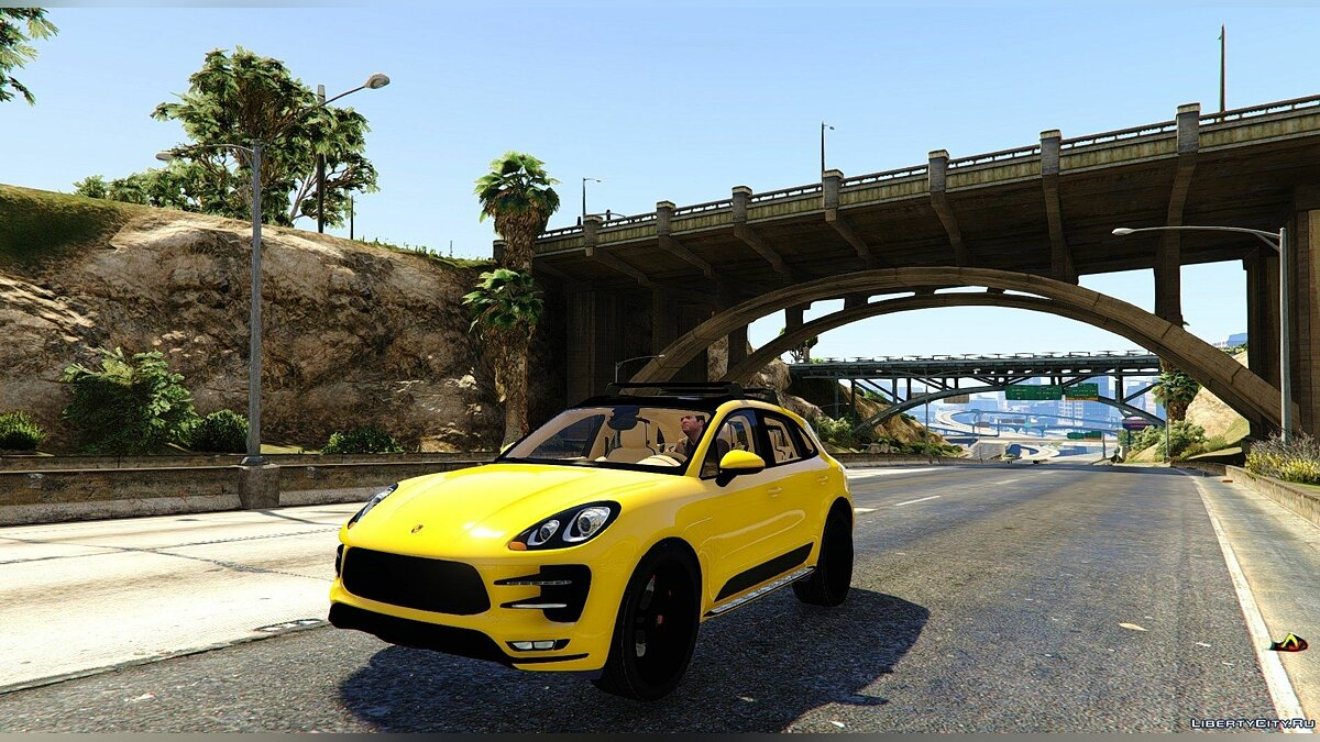 2015 Porsche Macan Turbo 1.0 для GTA 5 - скриншот #4