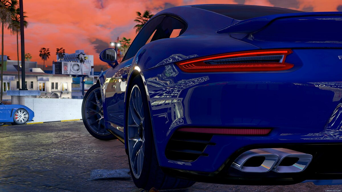 2016 Porsche 911 Turbo S [Add-On / Replace] 1.1a для GTA 5 - скриншот #2