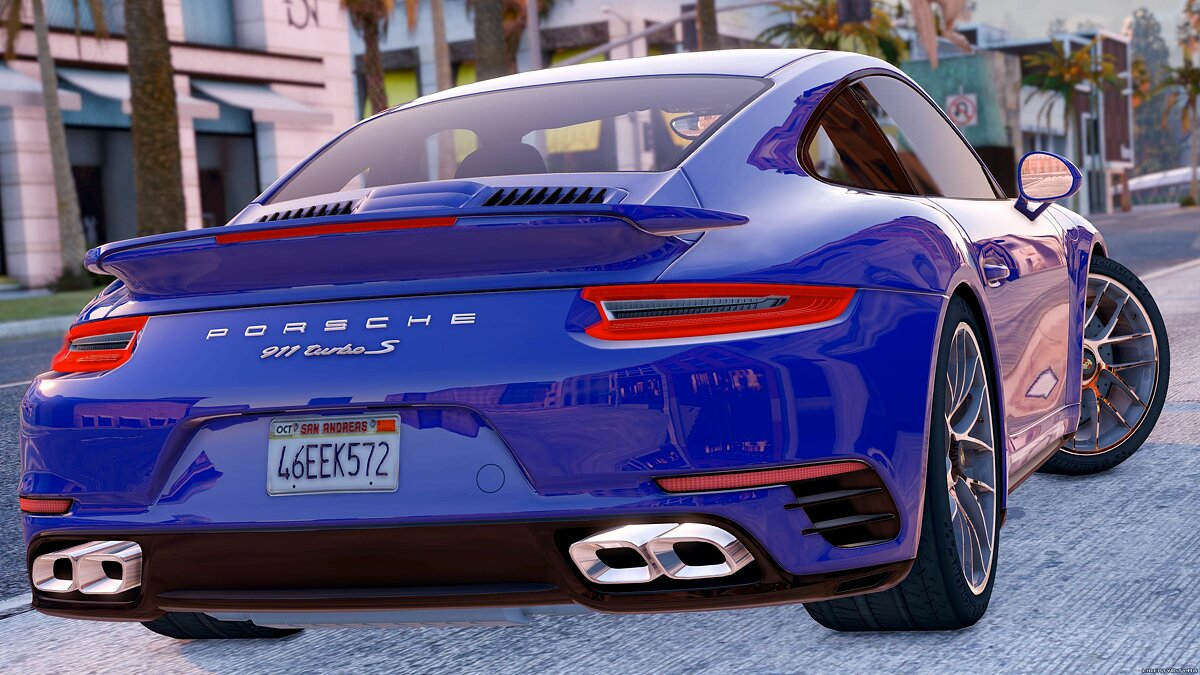 2016 Porsche 911 Turbo S [Add-On / Replace] 1.1a для GTA 5 - скриншот #5