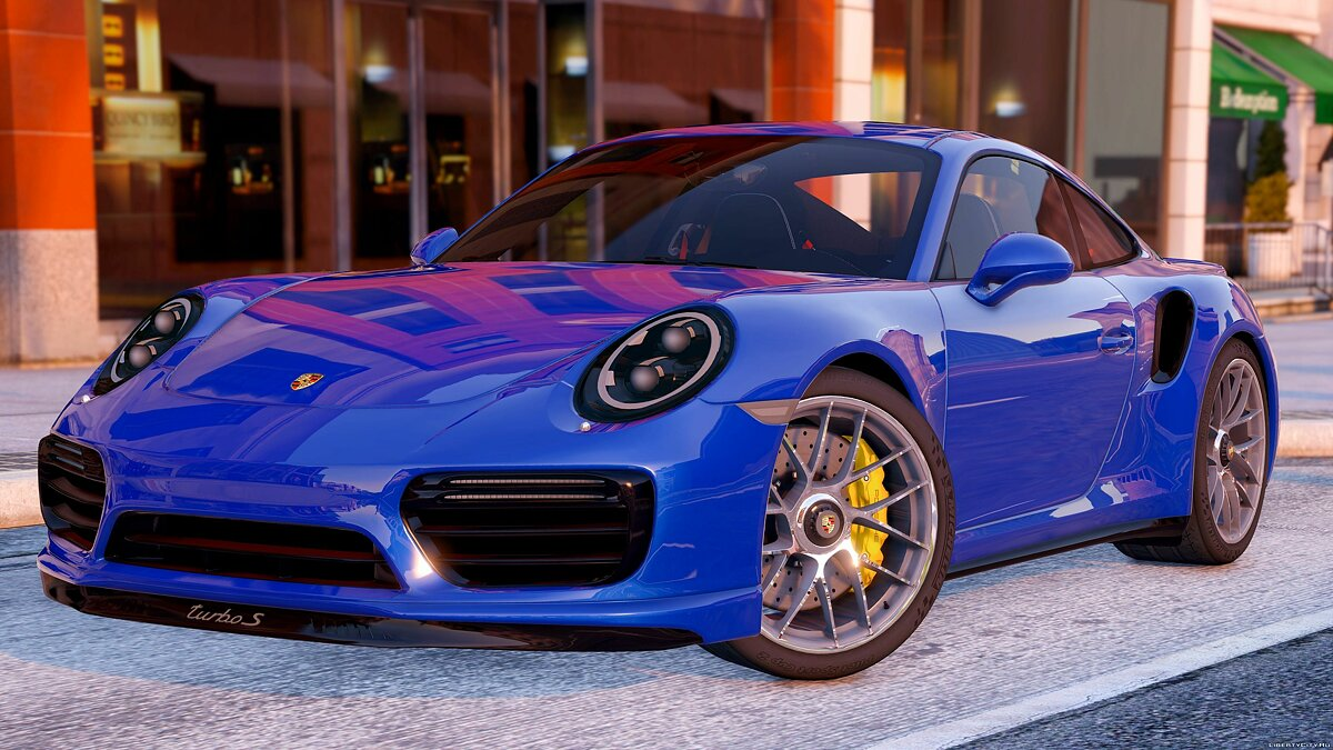 2016 Porsche 911 Turbo S [Add-On / Replace] 1.1a для GTA 5
