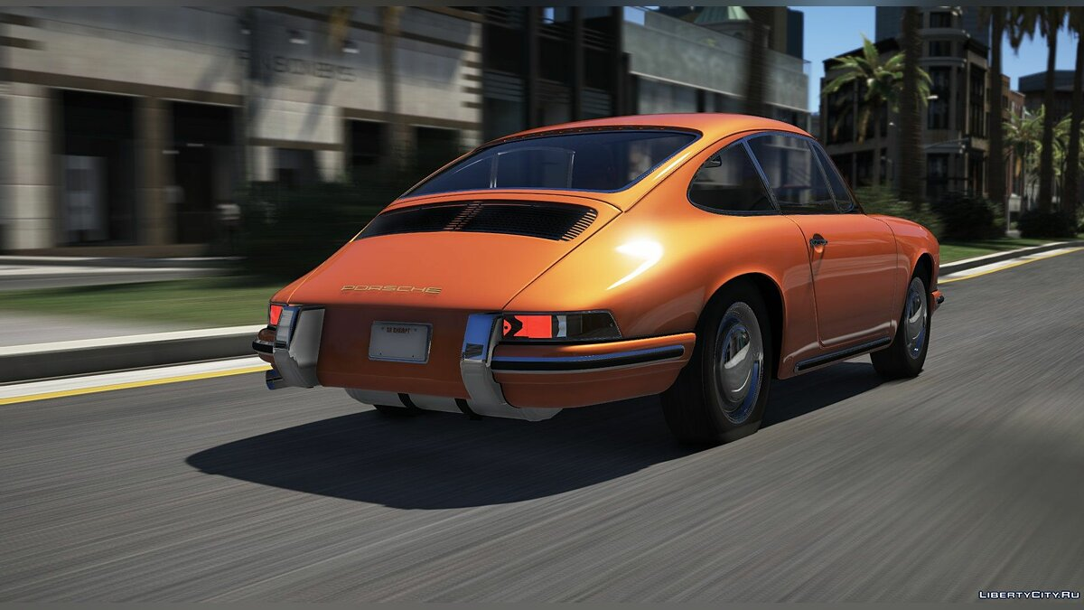 Машина Porsche Porsche 911 Type (901) 1964 [Add-On / Replace / Unlock] 1.1 для GTA 5