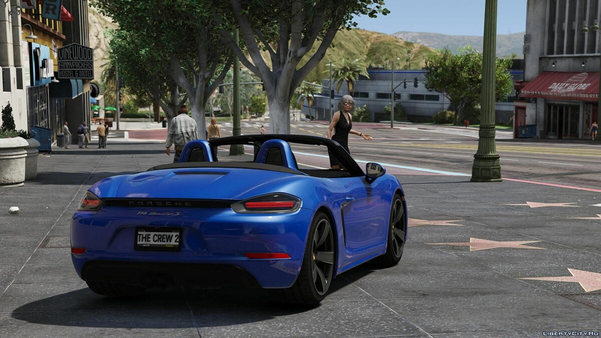 Машина Porsche 2016 Porsche 718 [Replace/ADD-ON] 3.0 для GTA 5