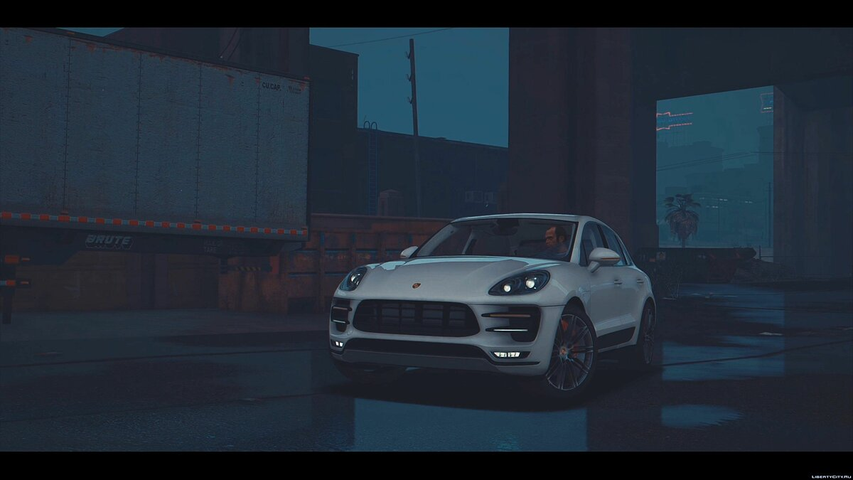 2016 Porsche Macan Turbo [Add-On / Replace] 1.5.1 для GTA 5