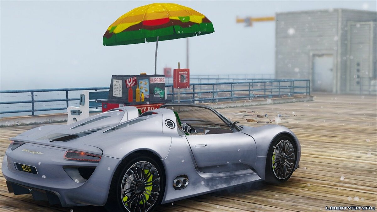 Машина Porsche 2010 Porsche 918 Concept [OIV|HQ|REAL SPEED] 1.2 для GTA 5