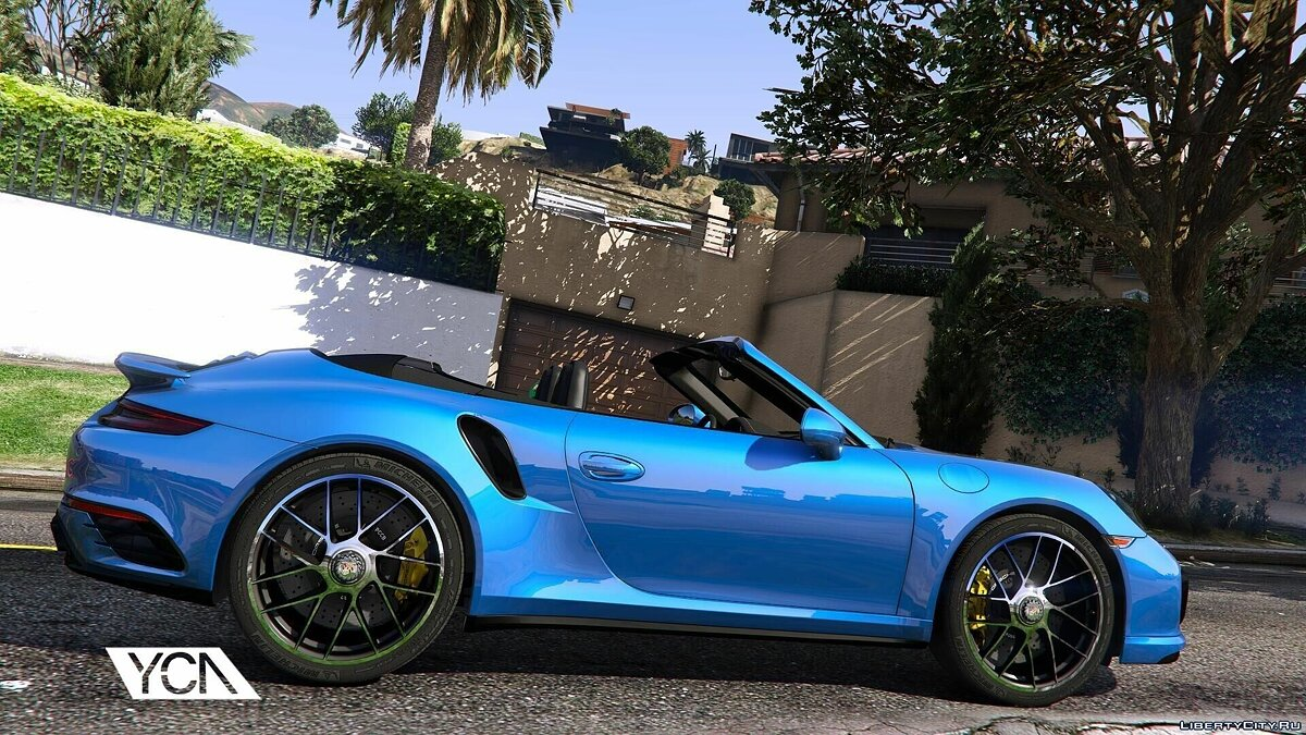 2016 Porsche 911 Turbo S Cabriolet (991.2) [Add-On | Wipers] 1.1 для GTA 5 - скриншот #2