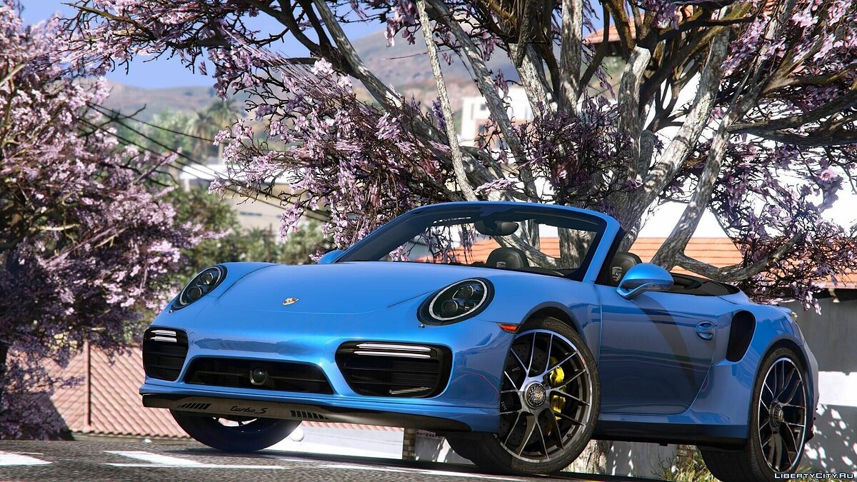 2016 Porsche 911 Turbo S Cabriolet (991.2) [Add-On | Wipers] 1.1 для GTA 5