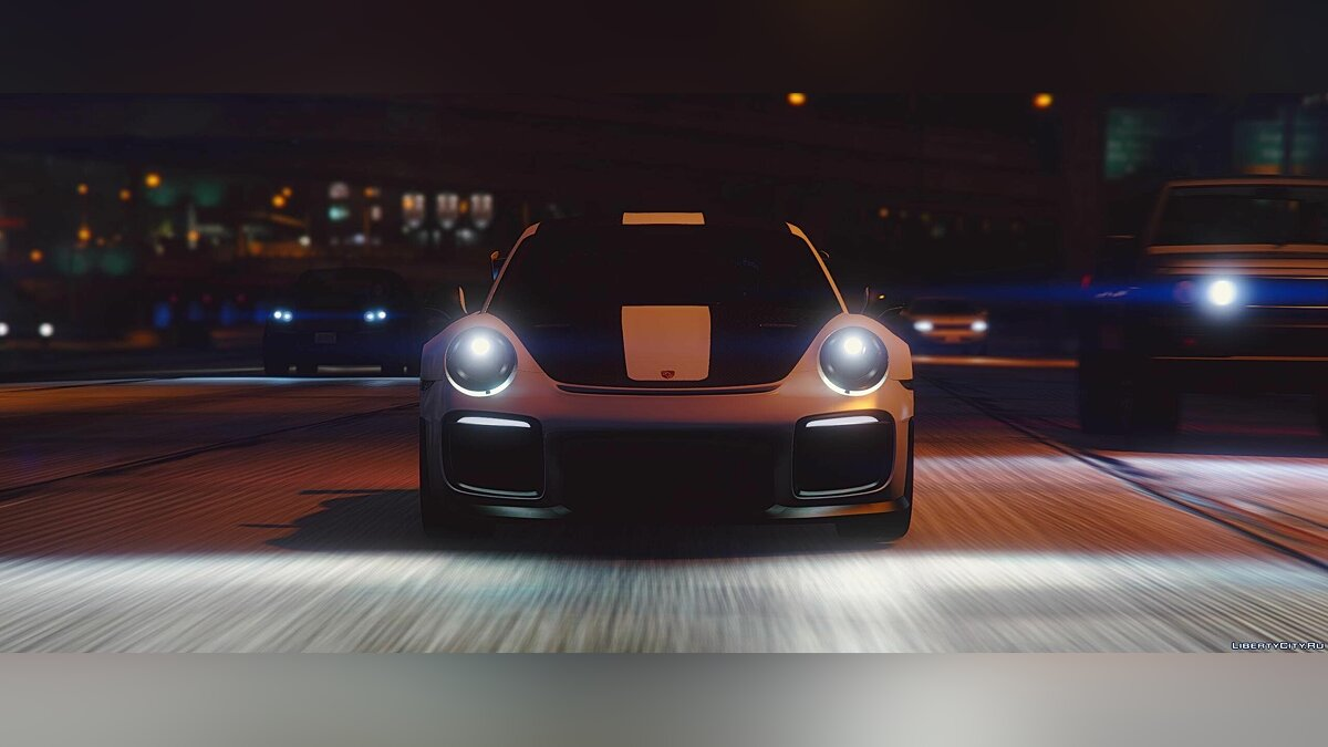 Porsche 911(991) GT-2 RS WEISSACH Edition 2018[HQ Interior][HQ Exterior][HQ Light][Replace/Add-On] 1.0 для GTA 5