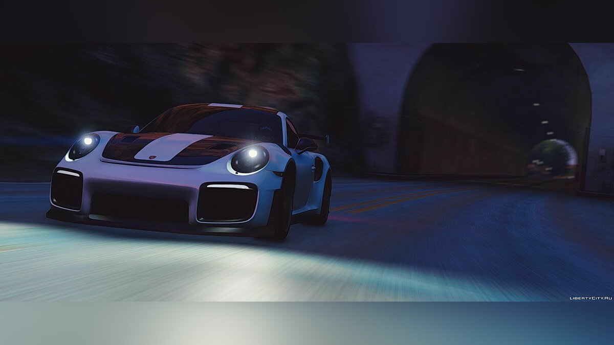Porsche 911(991) GT-2 RS WEISSACH Edition 2018[HQ Interior][HQ Exterior][HQ Light][Replace/Add-On] 1.0 для GTA 5 - скриншот #4