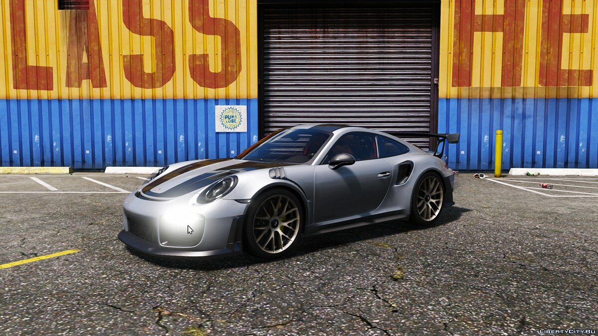 Porsche 911(991) GT-2 RS WEISSACH Edition 2018[HQ Interior][HQ Exterior][HQ Light][Replace/Add-On] 1.0 для GTA 5 - скриншот #12