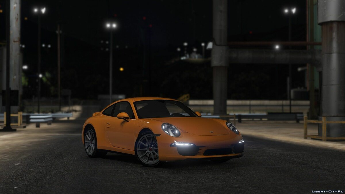Porsche 911 Carrera S [Add-On / Replace] 1.1.5 для GTA 5