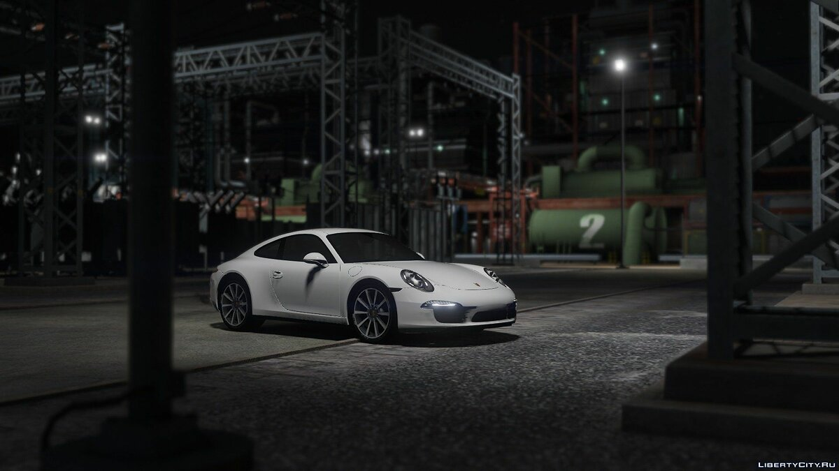 Porsche 911 Carrera S [Add-On / Replace] 1.1.5 для GTA 5 - скриншот #5