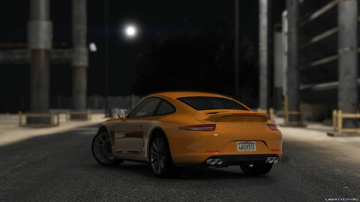 Porsche 911 Carrera S [Add-On / Replace] 1.1.5 для GTA 5 - скриншот #10