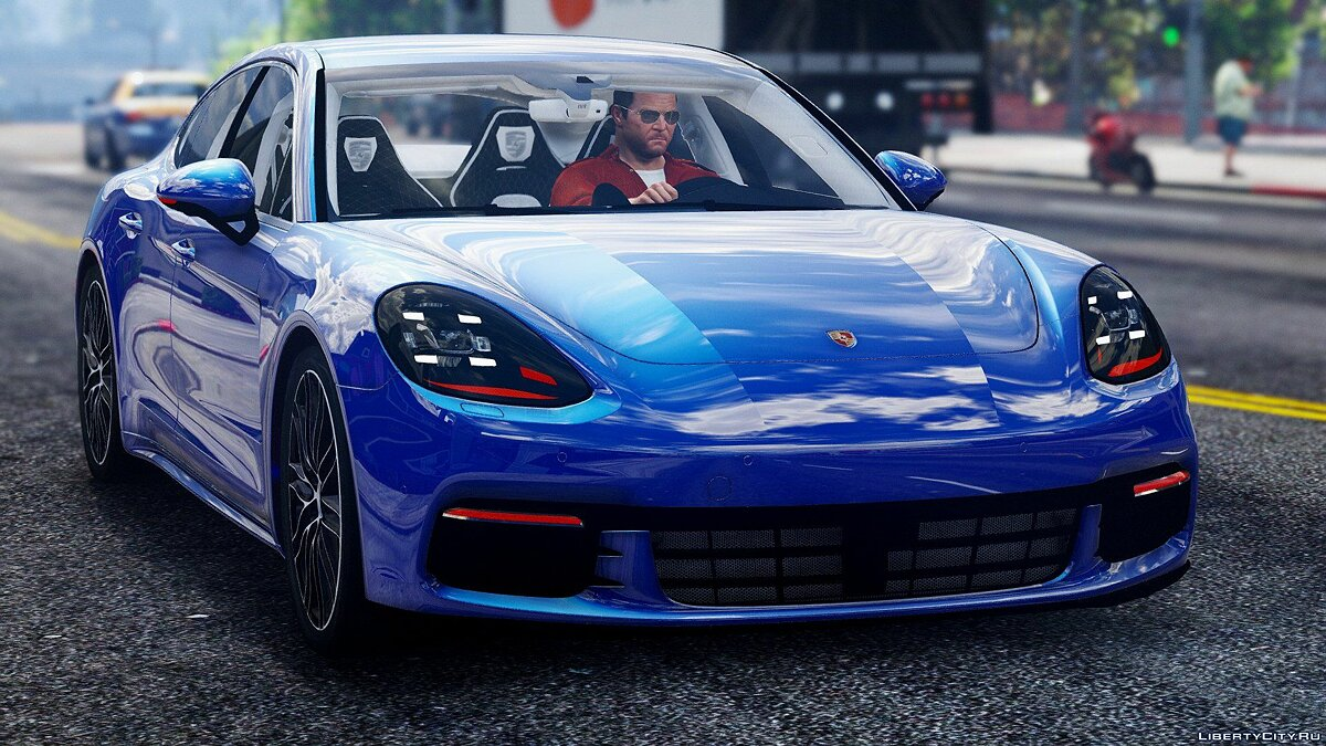 Porsche Panamera 4S 2017 [Add-On / Replace] 1.0 для GTA 5